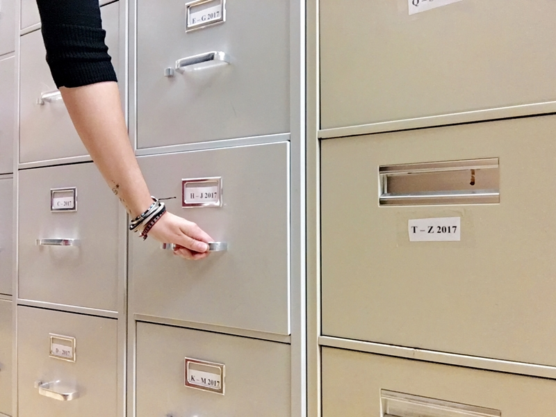 Storing paperwork takes up space and resources that could be better utilised.