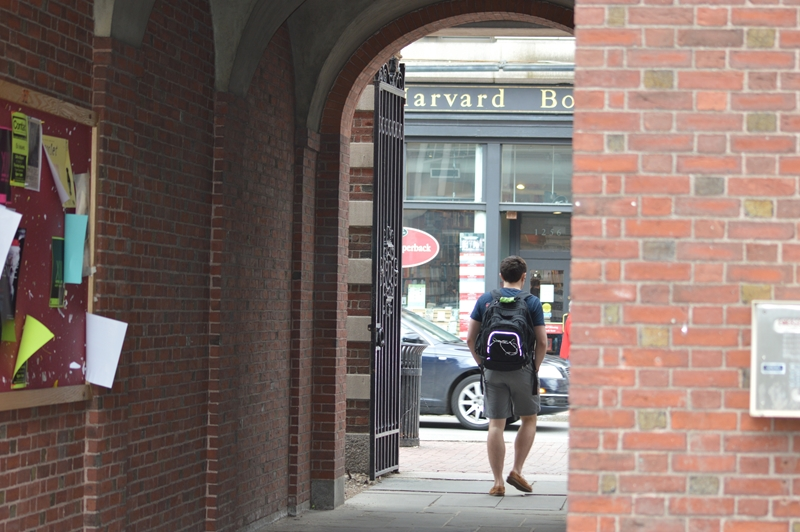 Empowered by Boardingware, students can easily sign in and out of campus as their permissions allow.