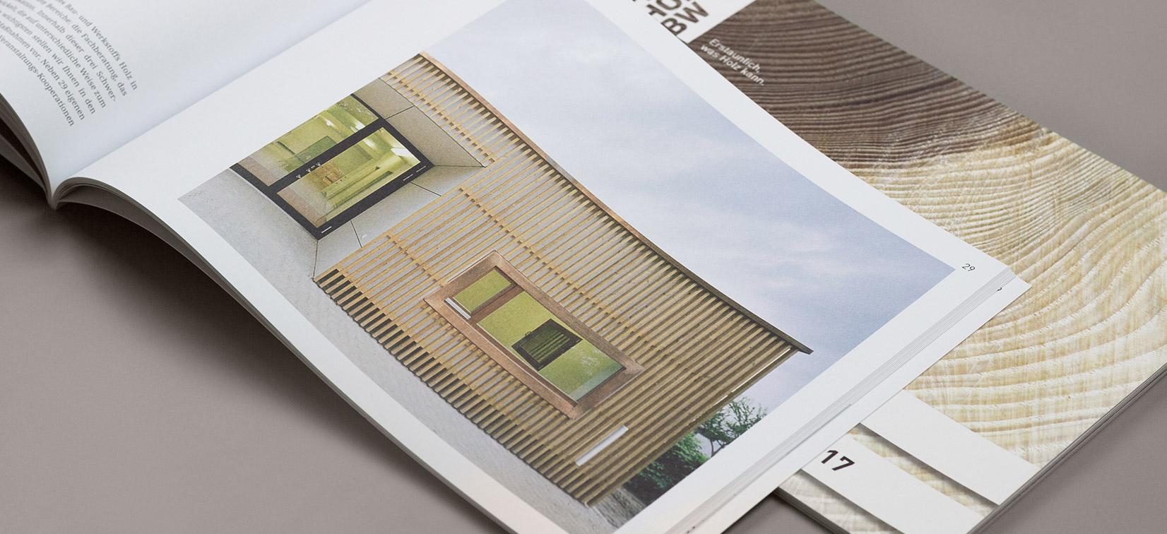 Jahresbericht proHolz BW Broschüre