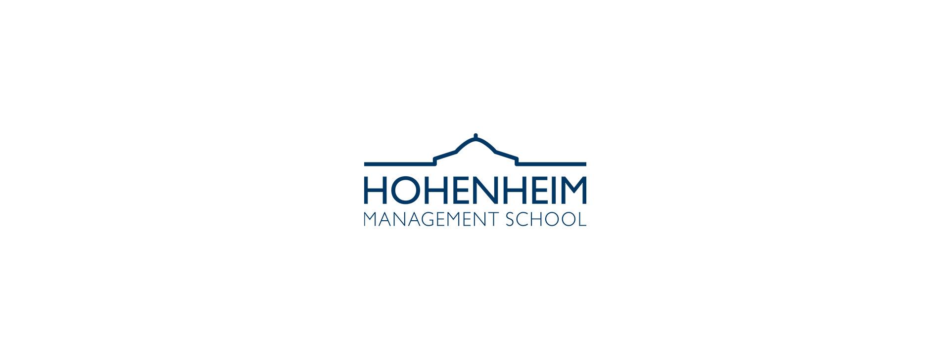 Logo Hohenheim Management School splitterfaser_