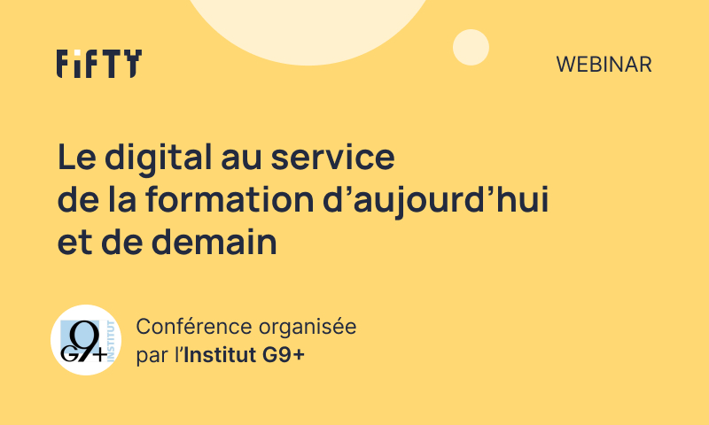 Conference: Digital at the service of training