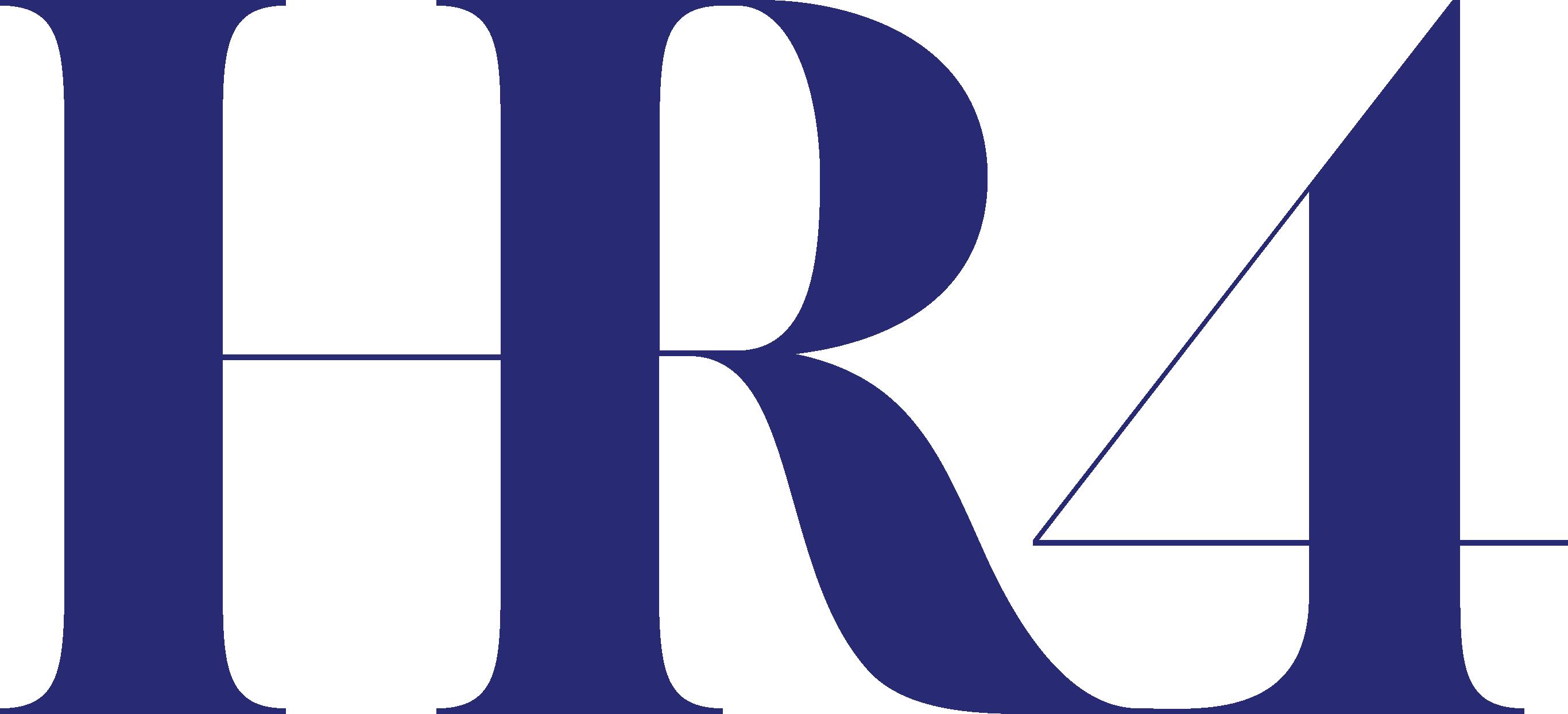 Logo bleu foncé de l'entreprise Hr4team