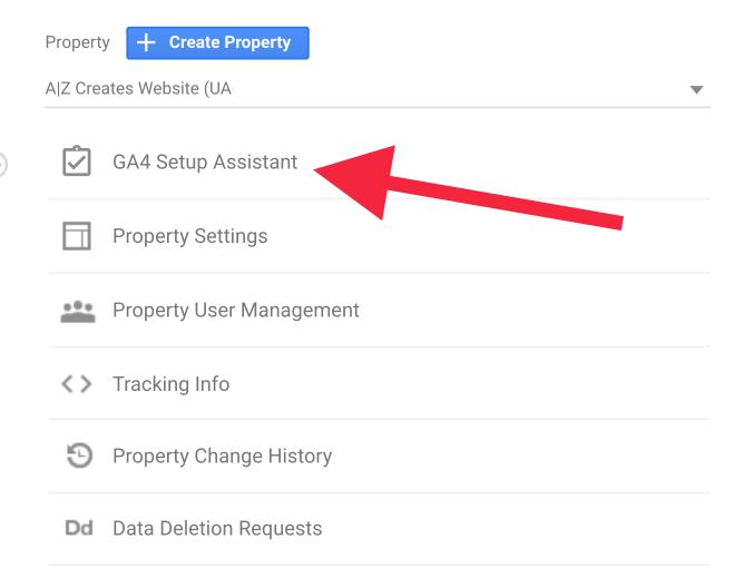 GA4 Setup Assistant | AZ Creates