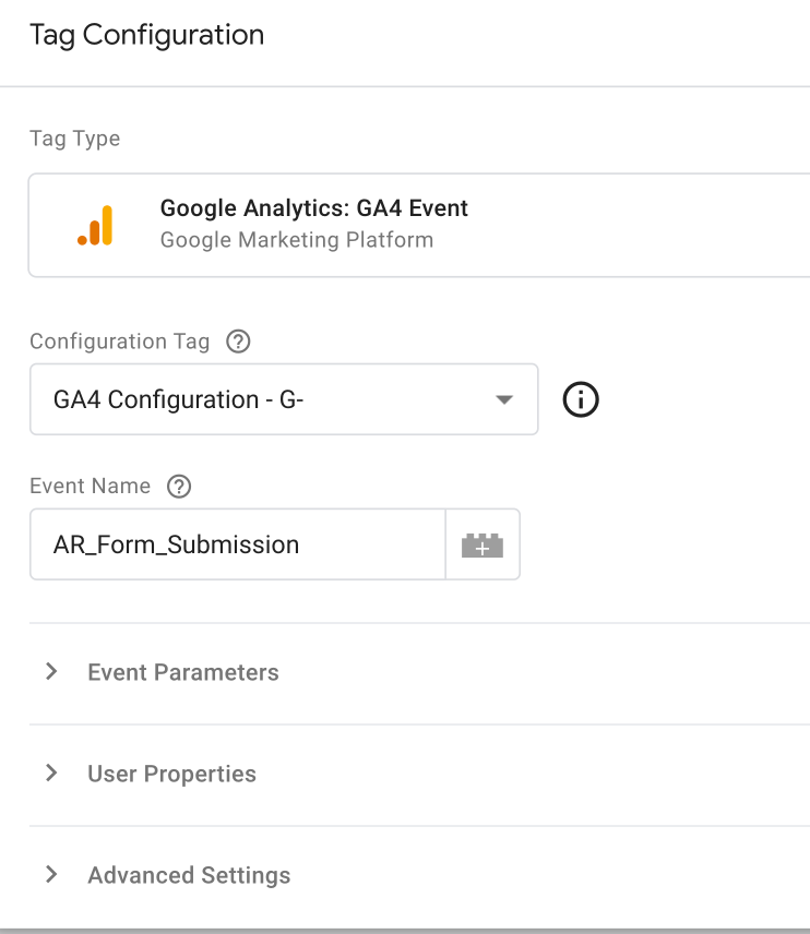 Google Analytics: GA4 Event Tag Configuration in GTM | AZ Creates