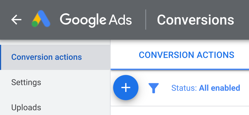 Add New Conversions Button in Google Ads | AZ Creates