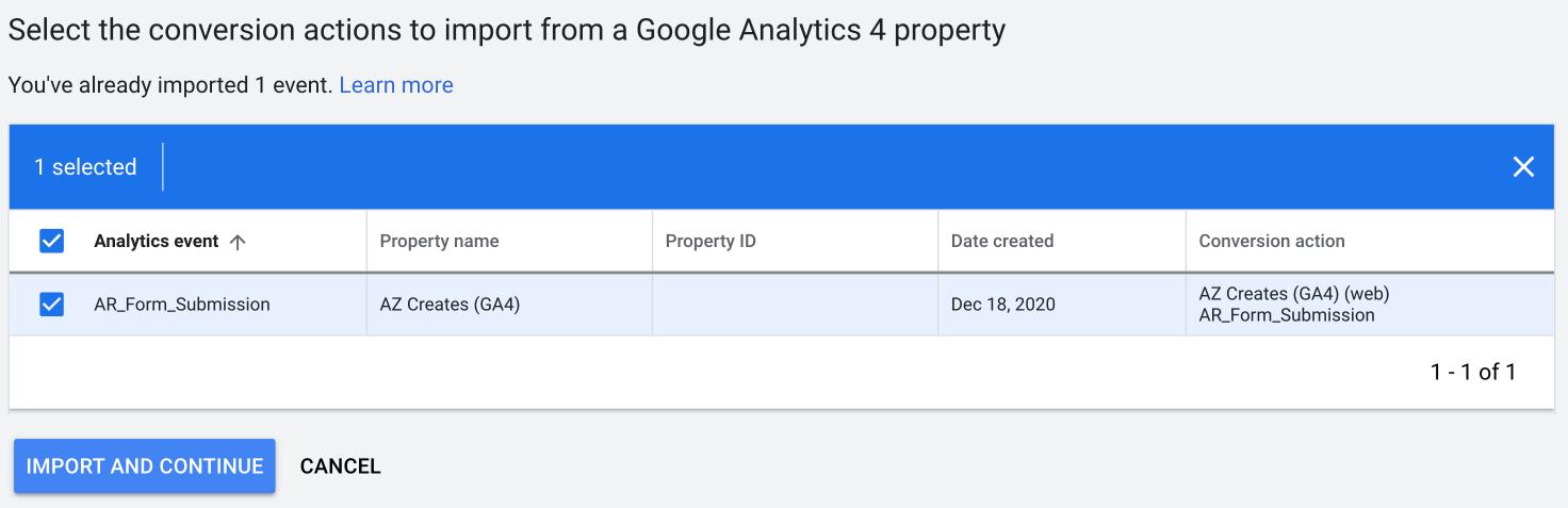 Select Preferred Conversion in Google Ads | AZ Creates