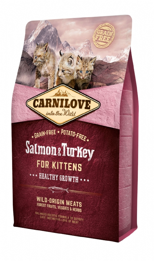CARNILOVE Salmon & Turkey Kitten