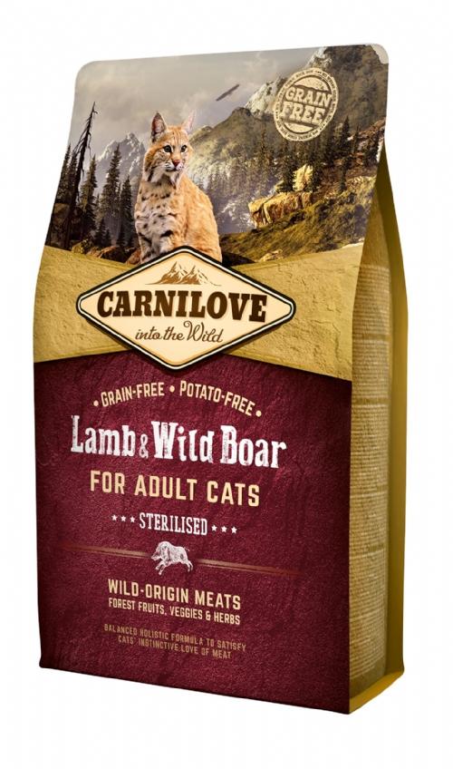 CARNILOVE Lamb & Wild Boar Cat