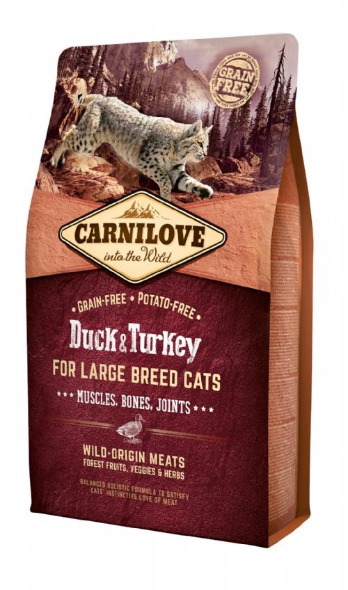 CARNILOVE Duck & Turkey Large Breed Cat