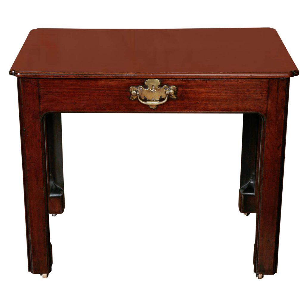 A George III Mahogany Architect's/Writing Table ca. 1750