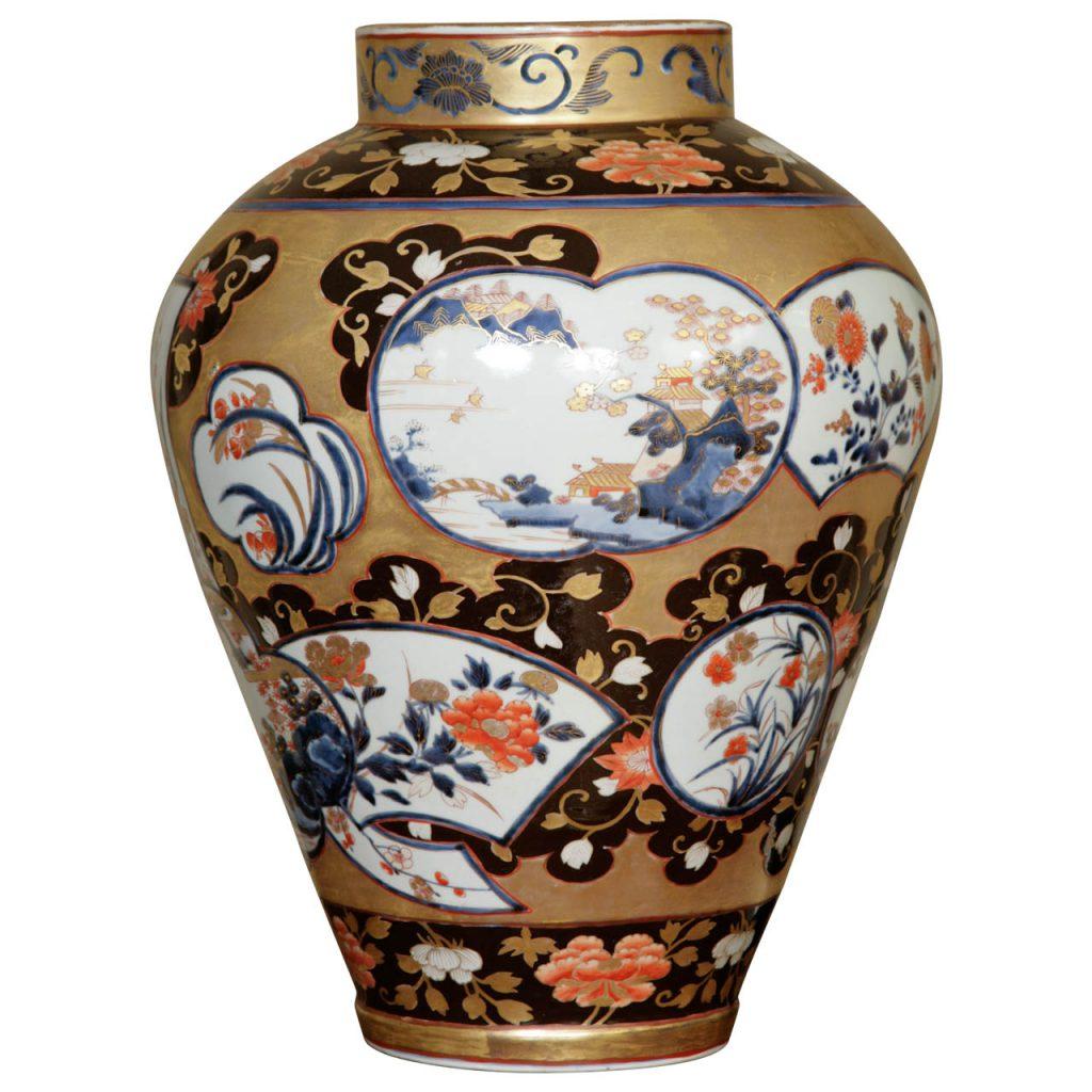 Fabulous Large Japanese Early 18th Century Imari Vase
