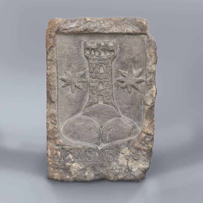 A 16th Century South Italian Stone Carved Coat of Arms