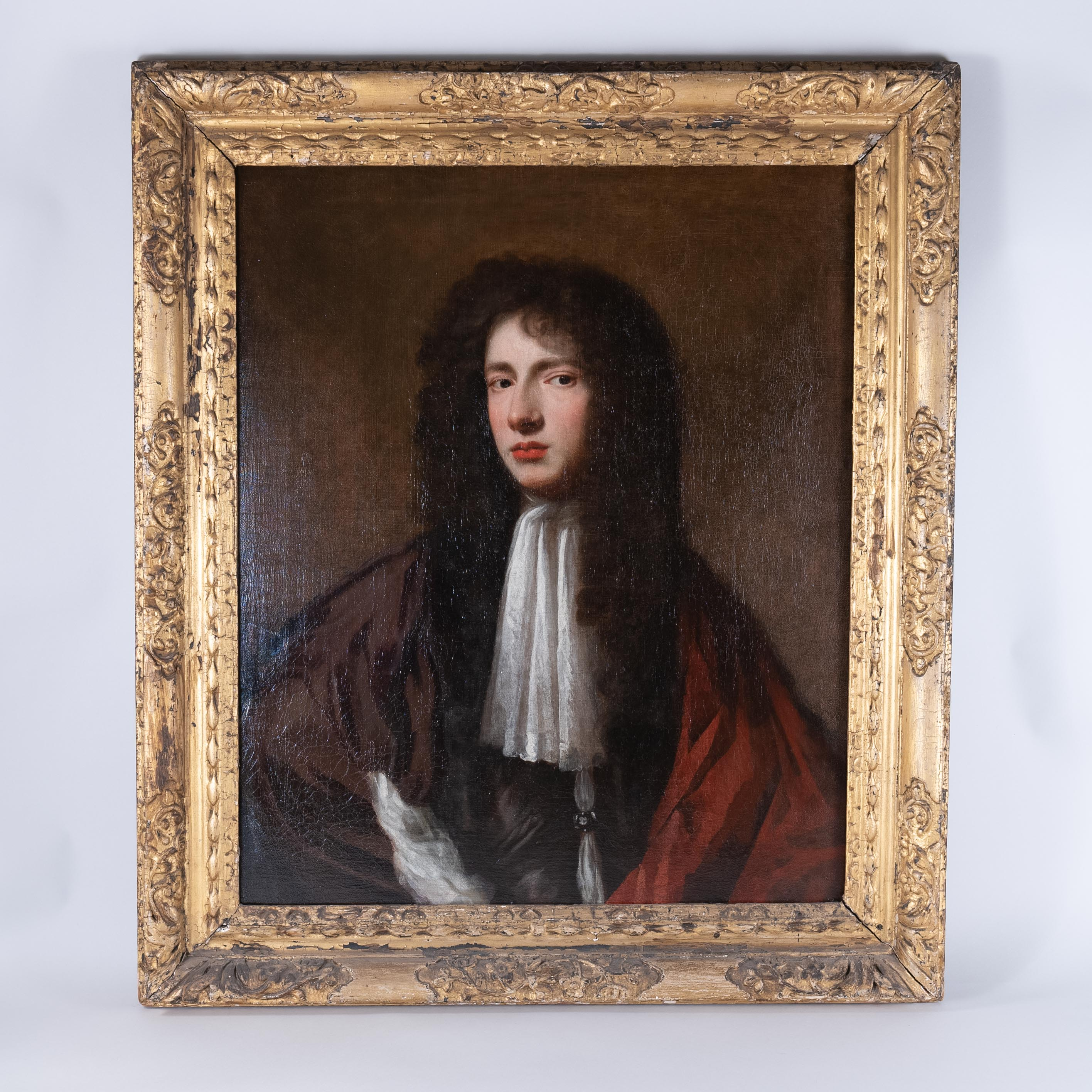 Late 17th Century Portrait of a Young Gentleman, Circle of Peter Lely