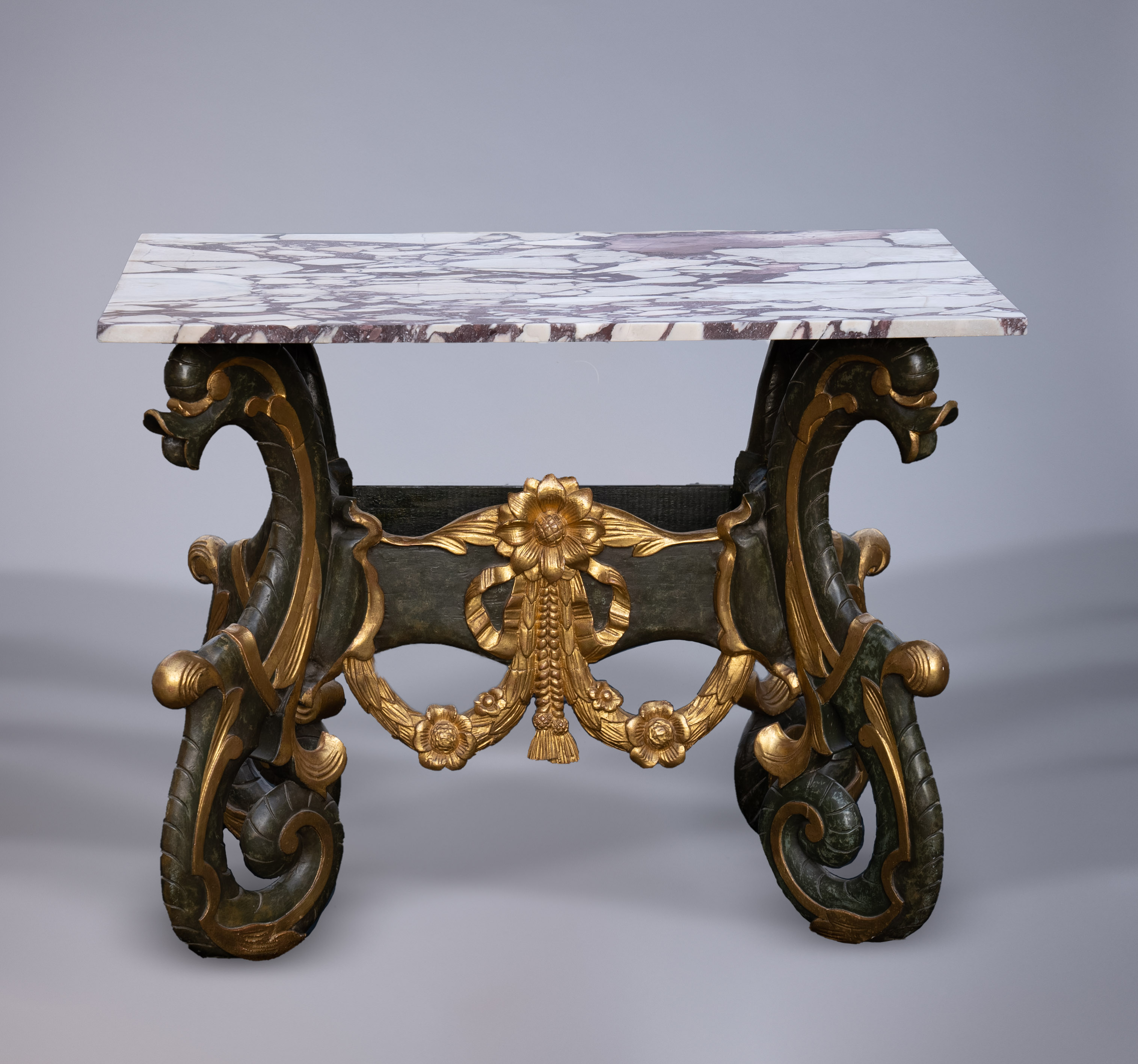 17th Century Dutch Giltwood Kwabtafel