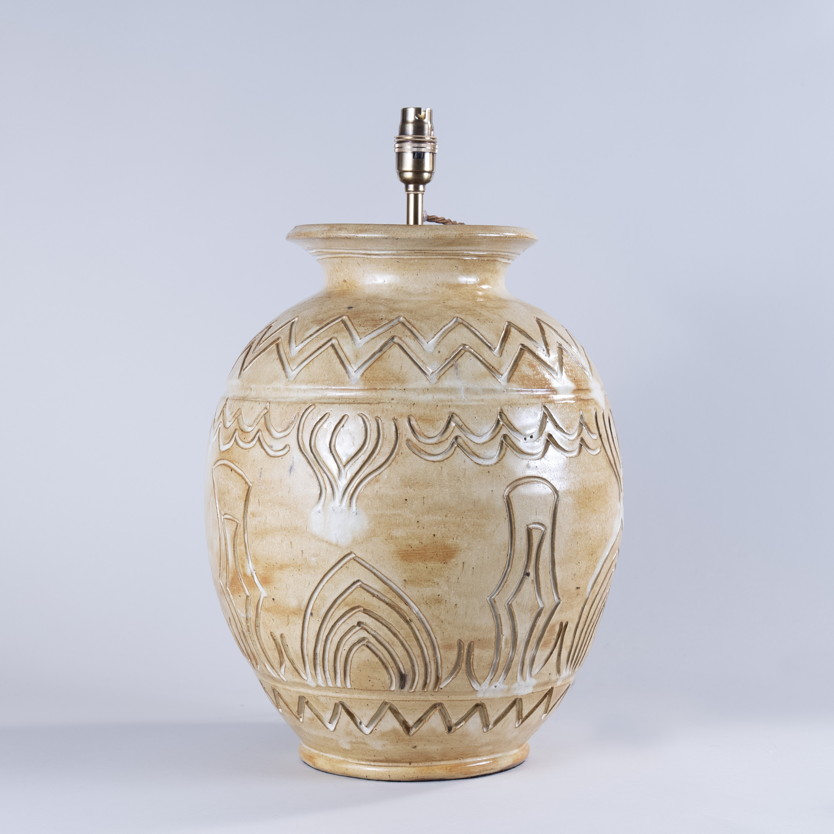 Large mid 20th Century Vallauris Pottery Vase, Circle of Pablo Picasso, Circa 1950