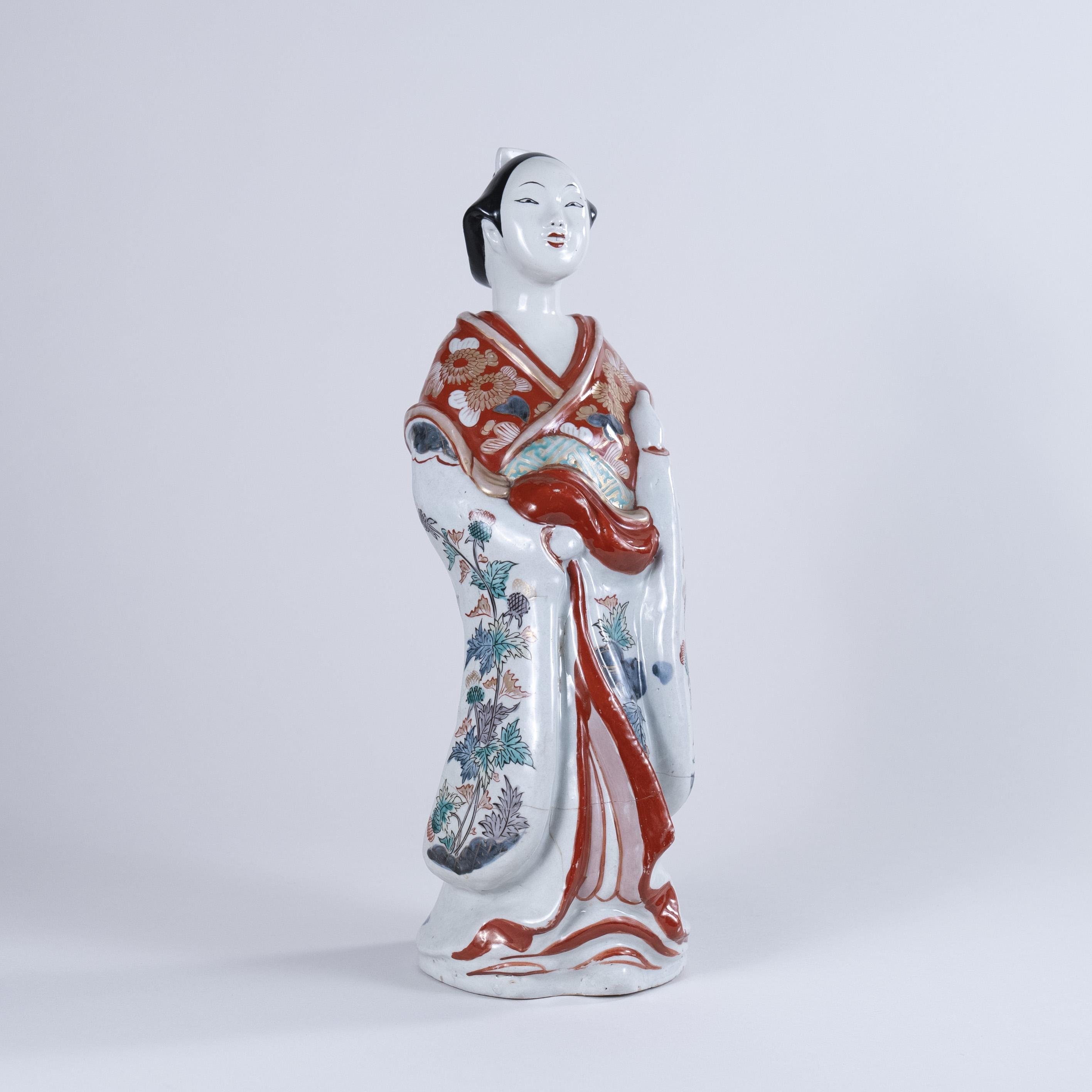 """Late 17th Century Japanese Imari """"Bijin"""", circa 1690"""