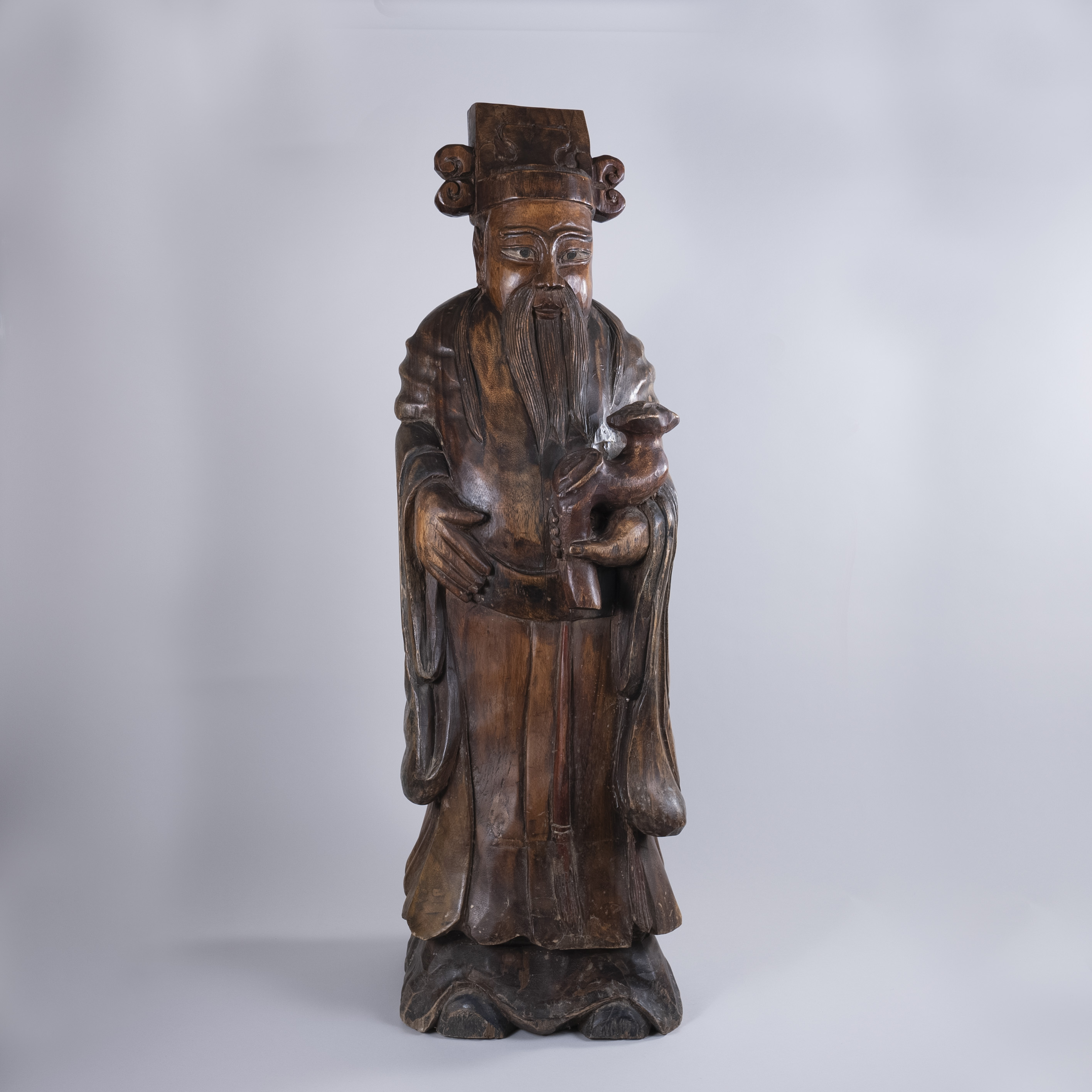 Mid 19th Century Chinese Hardwood Sculpture