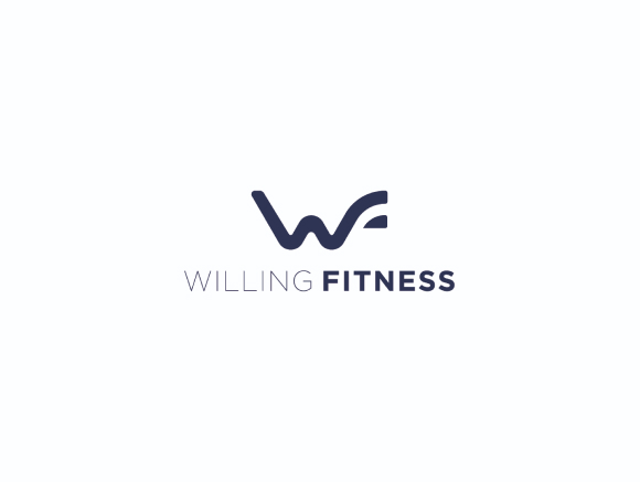 Willingfitness logo in black on a white background