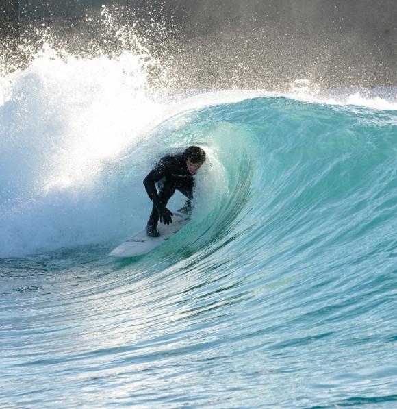 Will surfing a barrel
