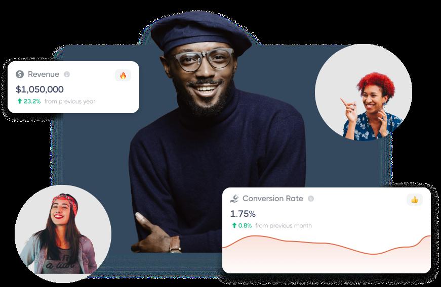 Wizebank Analytics Hero