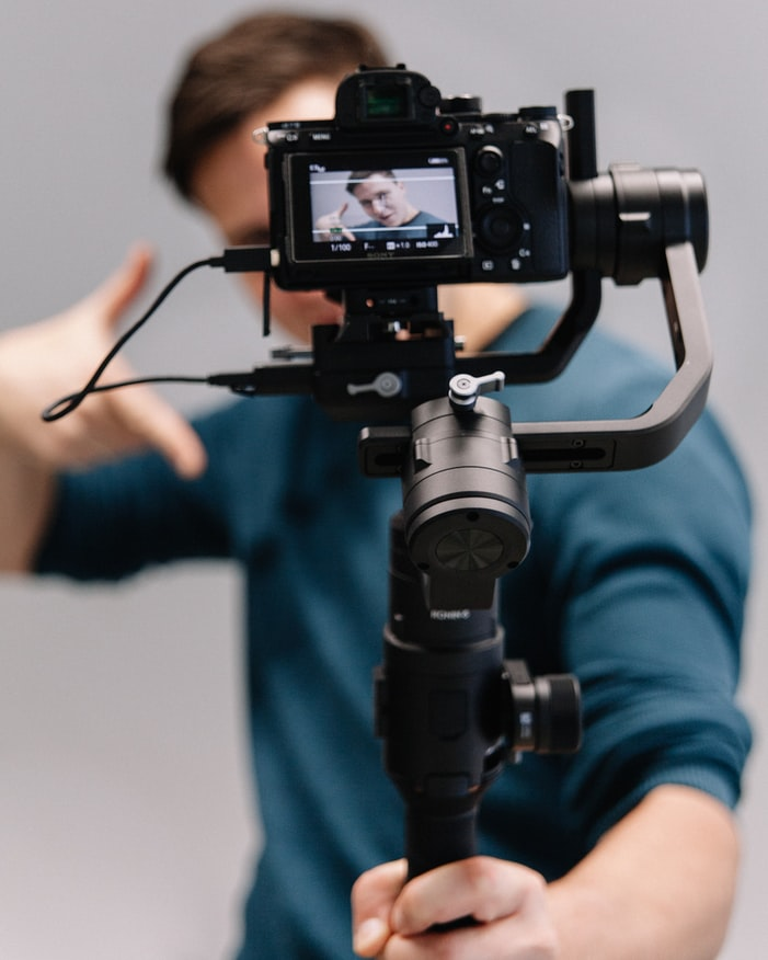 Course Creator Filming
