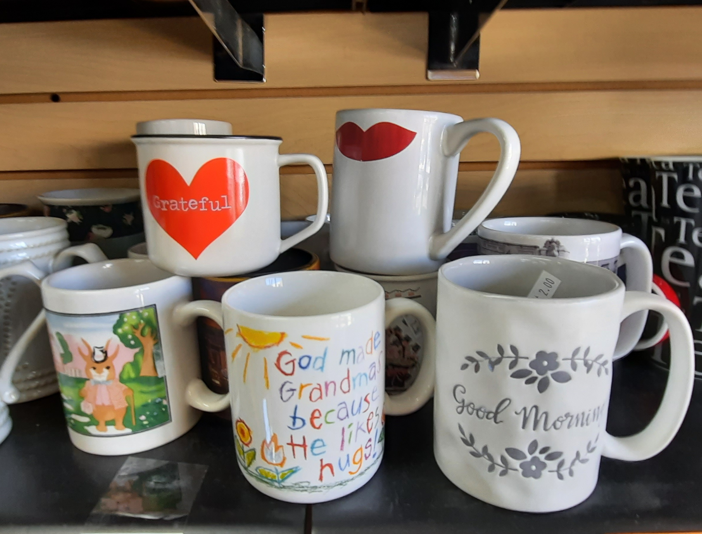 Cups and Mugs 1/2 Price June 14th-27th