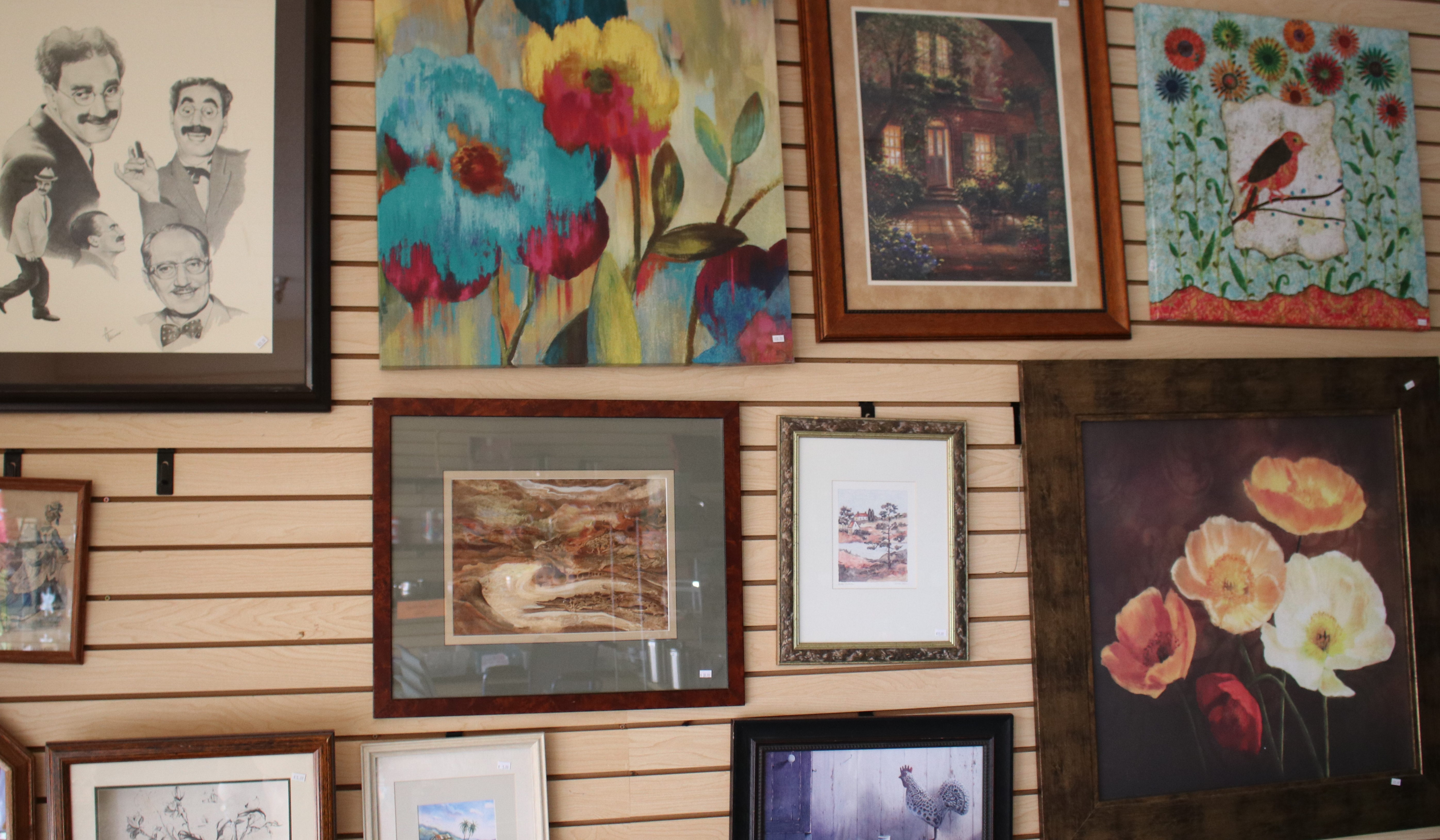Framed Art and Picture Frames 1/2 price May 3rd-8th