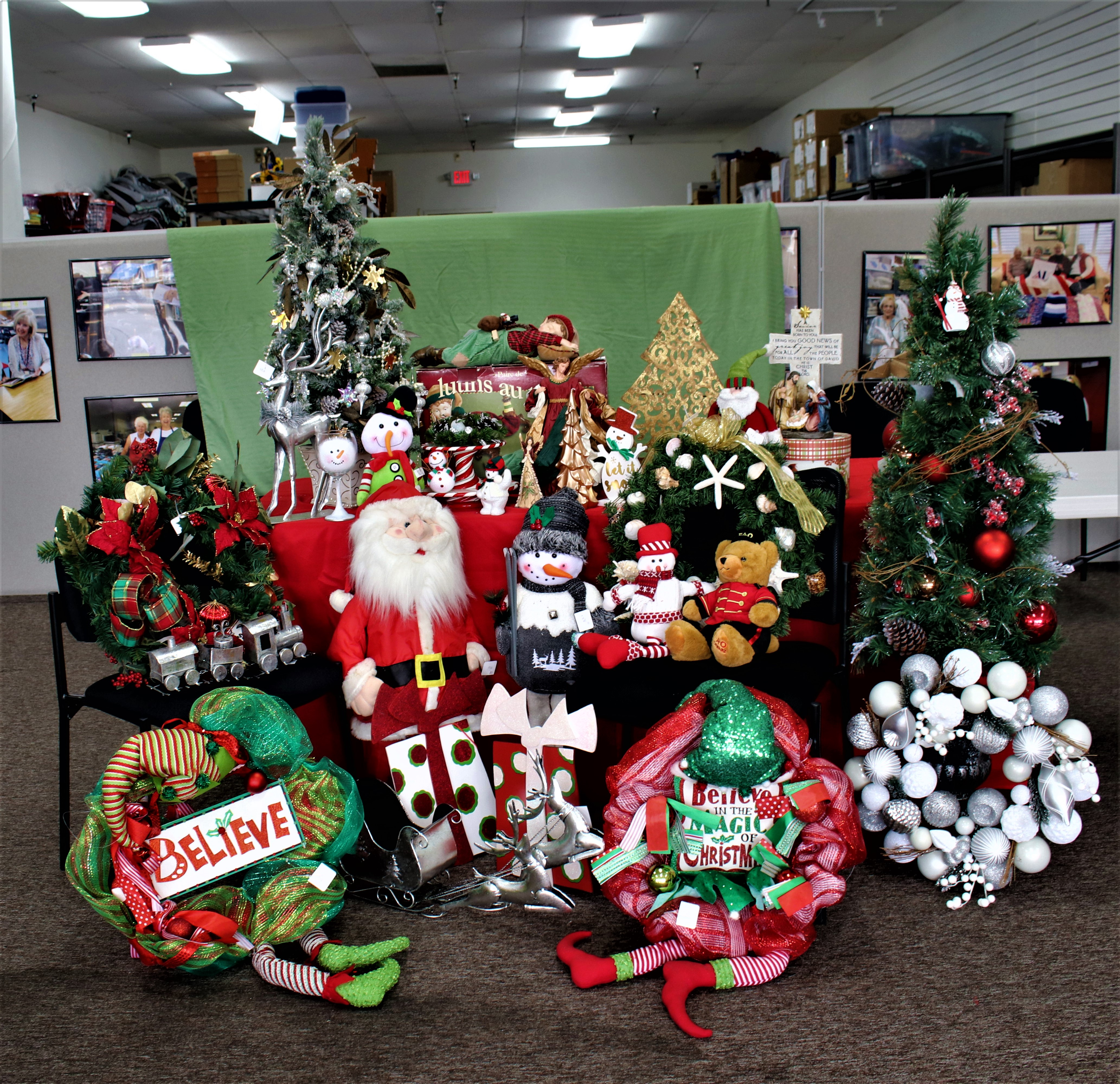 Christmas in July Sale, All Items 1/2 Price Week of 7/19-24