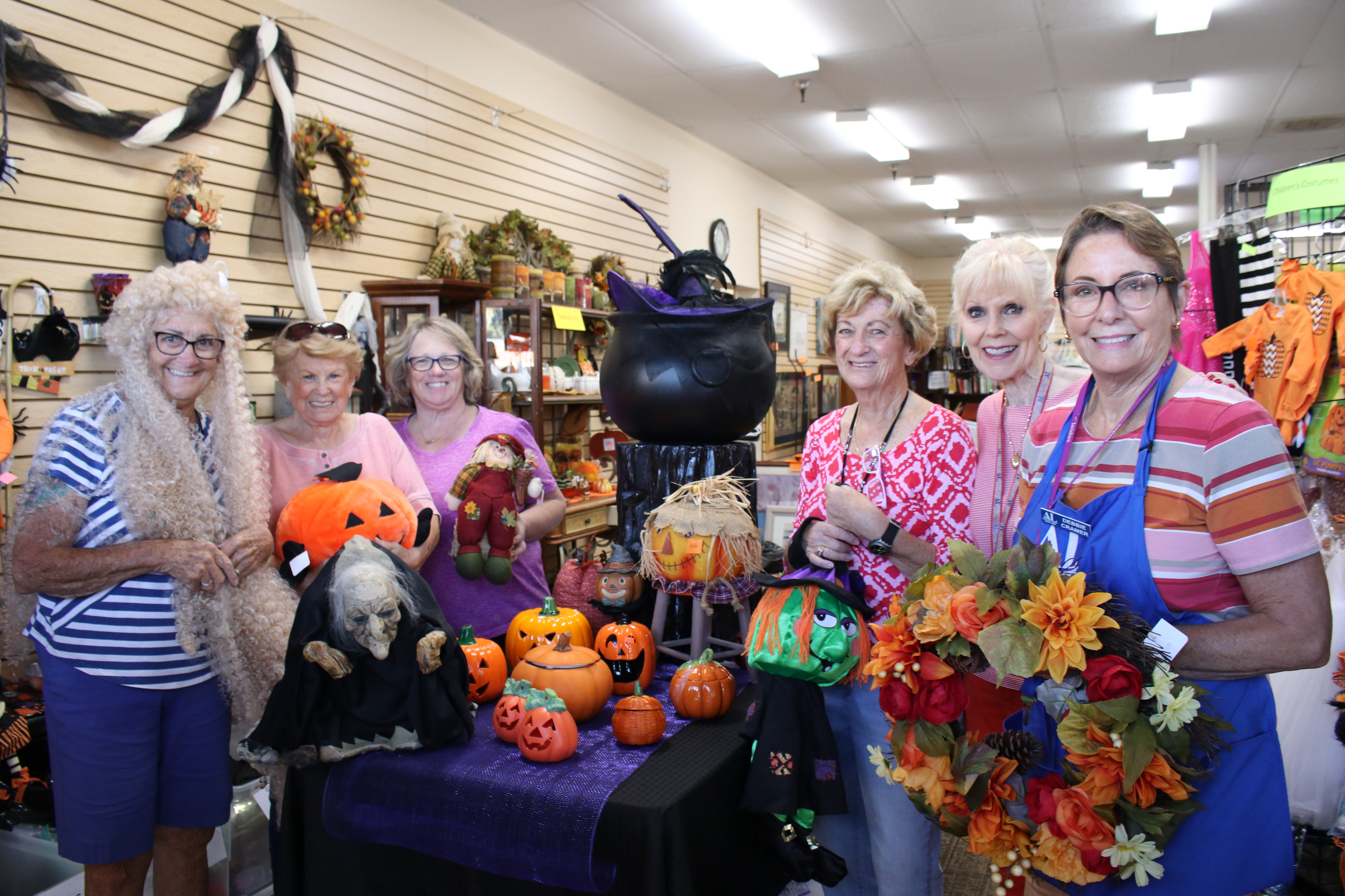 Large Selection of Halloween and Fall Decor Available September though the End of October