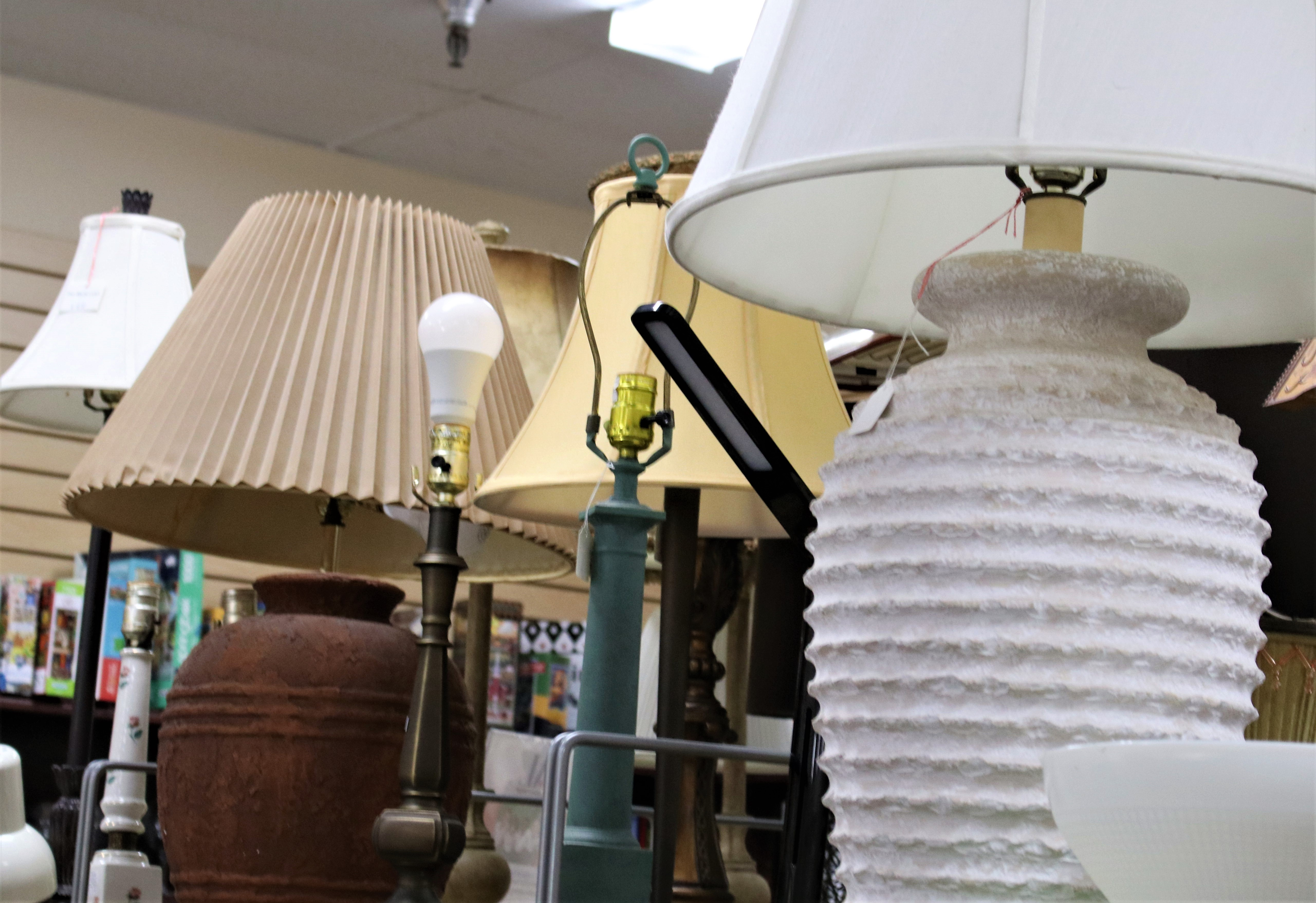 Lamps and Lampshades 1/2 Off Week of September 20th-25th