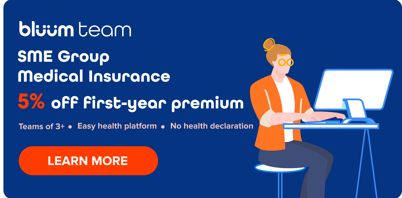 bluum team SME group medical insurance discount