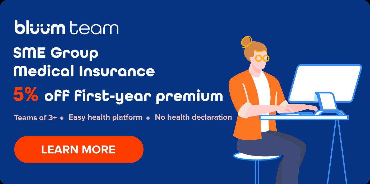 bluum team sme group medical insurance