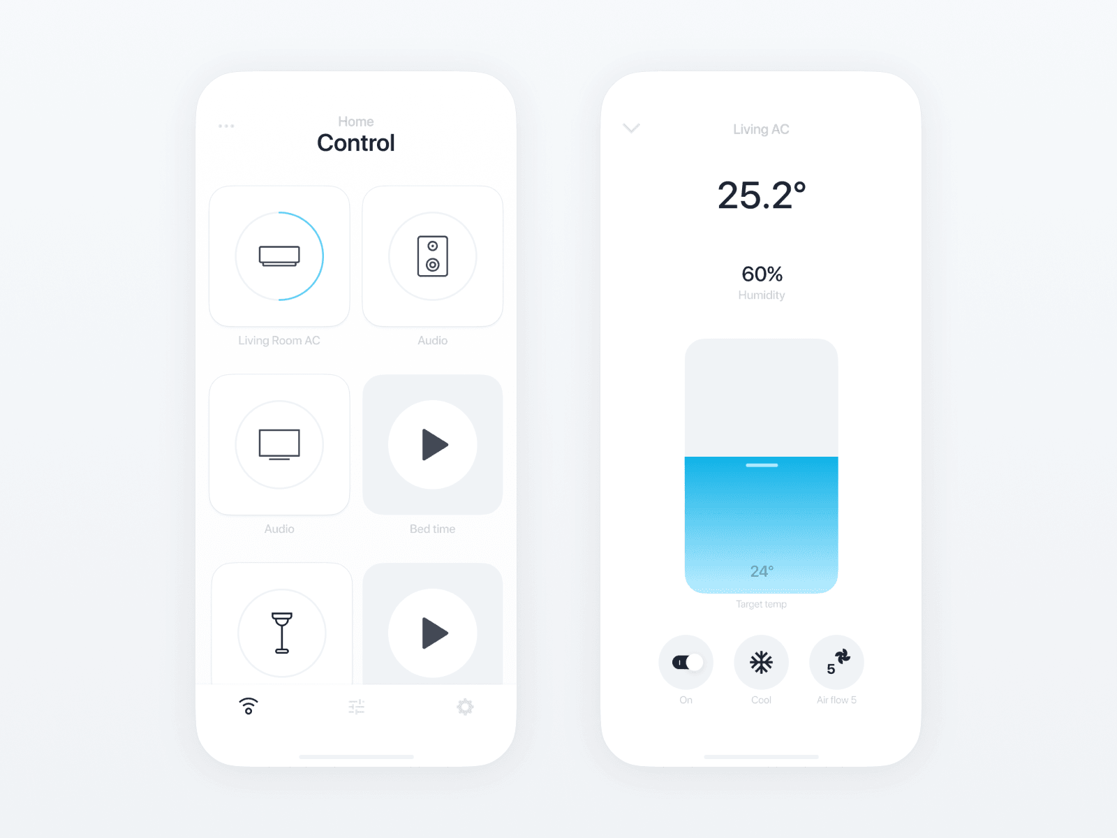 nature remo app designed by oz hashimoto