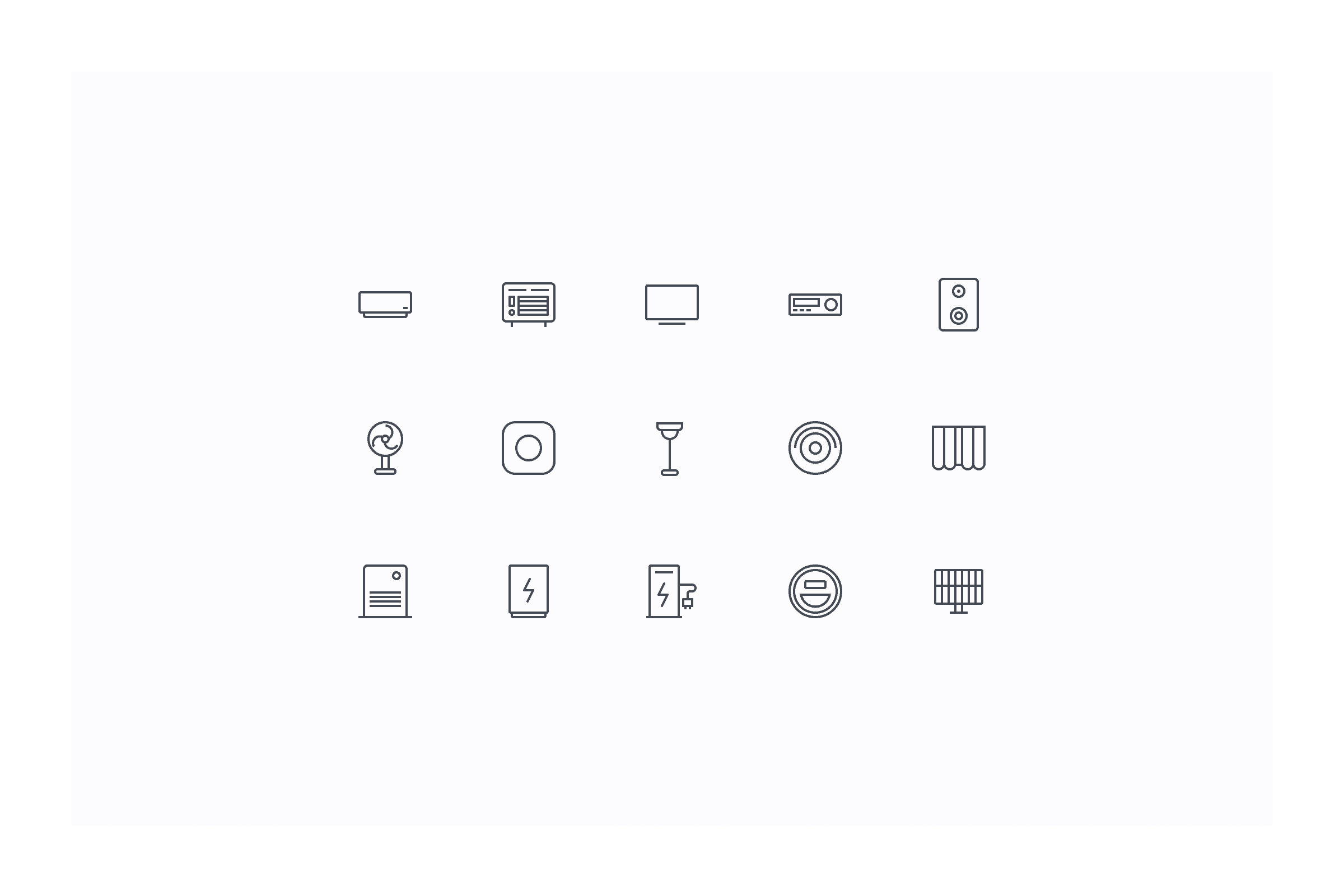Nature Remo Icons designed by Oz Hashimoto