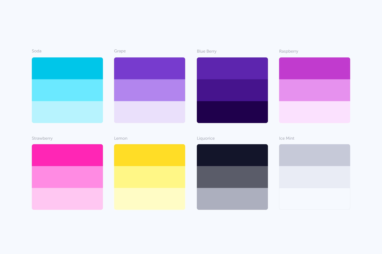 Nature Remo Color Palette designed by Oz Hashimoto