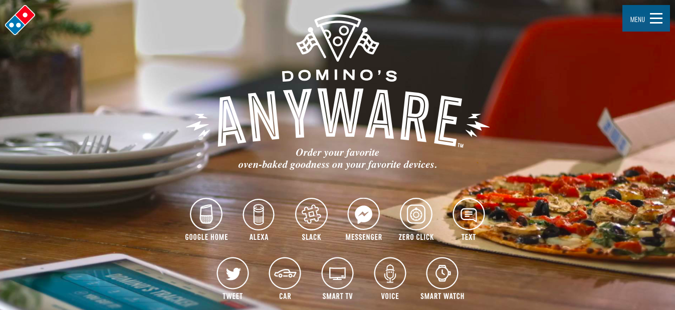 conversational marketing dominos pizza