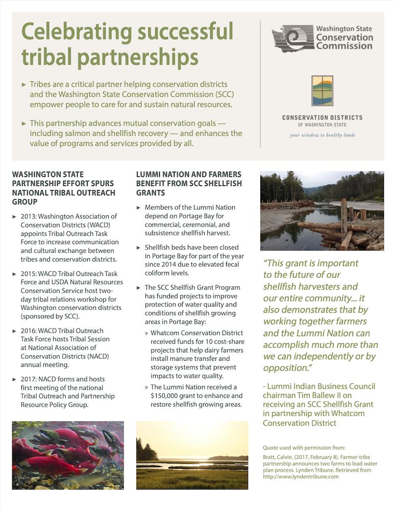 Celebrating Successful Tribal Partnerships