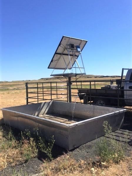 Livestock watering facility