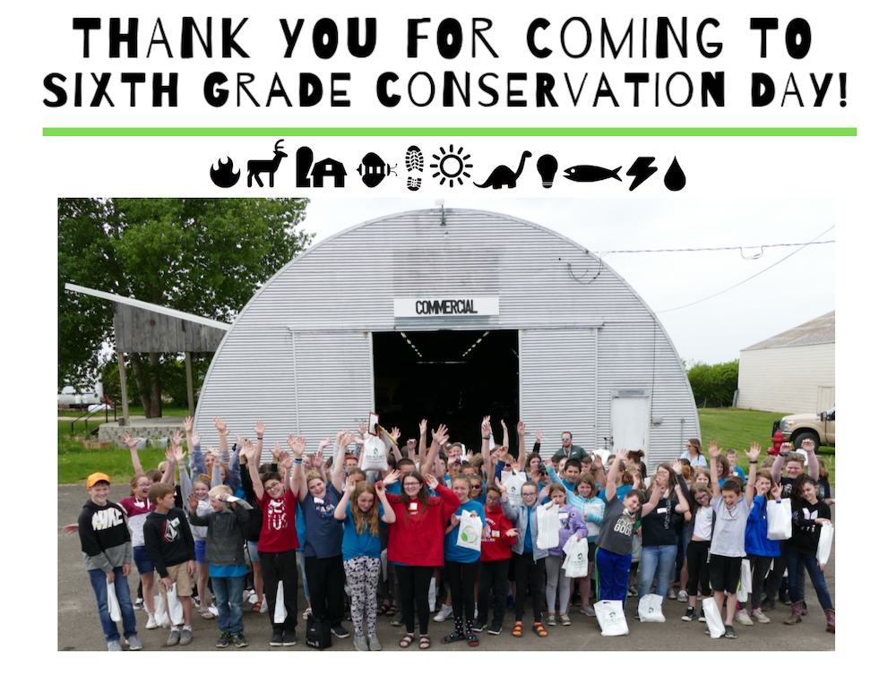 Sixth grade Conservation Day