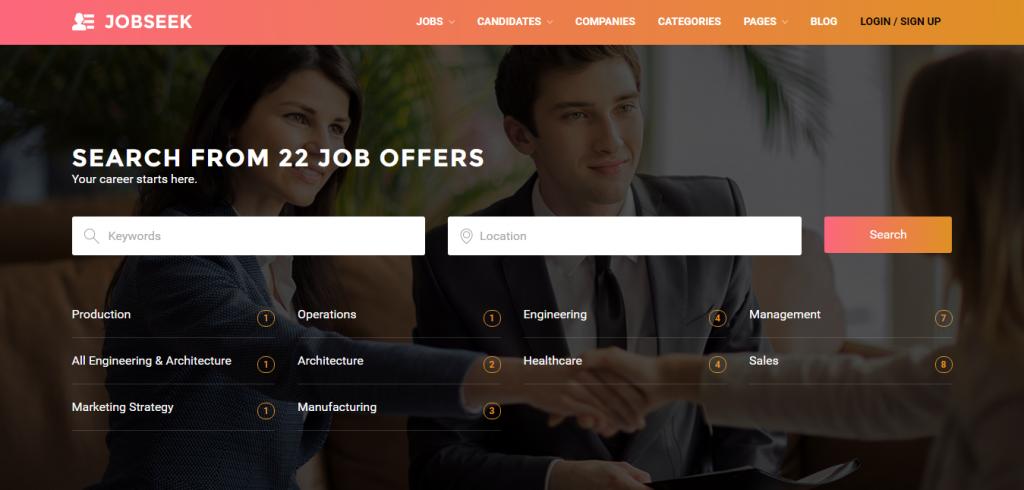 jobseek-job-board-wordpress-theme