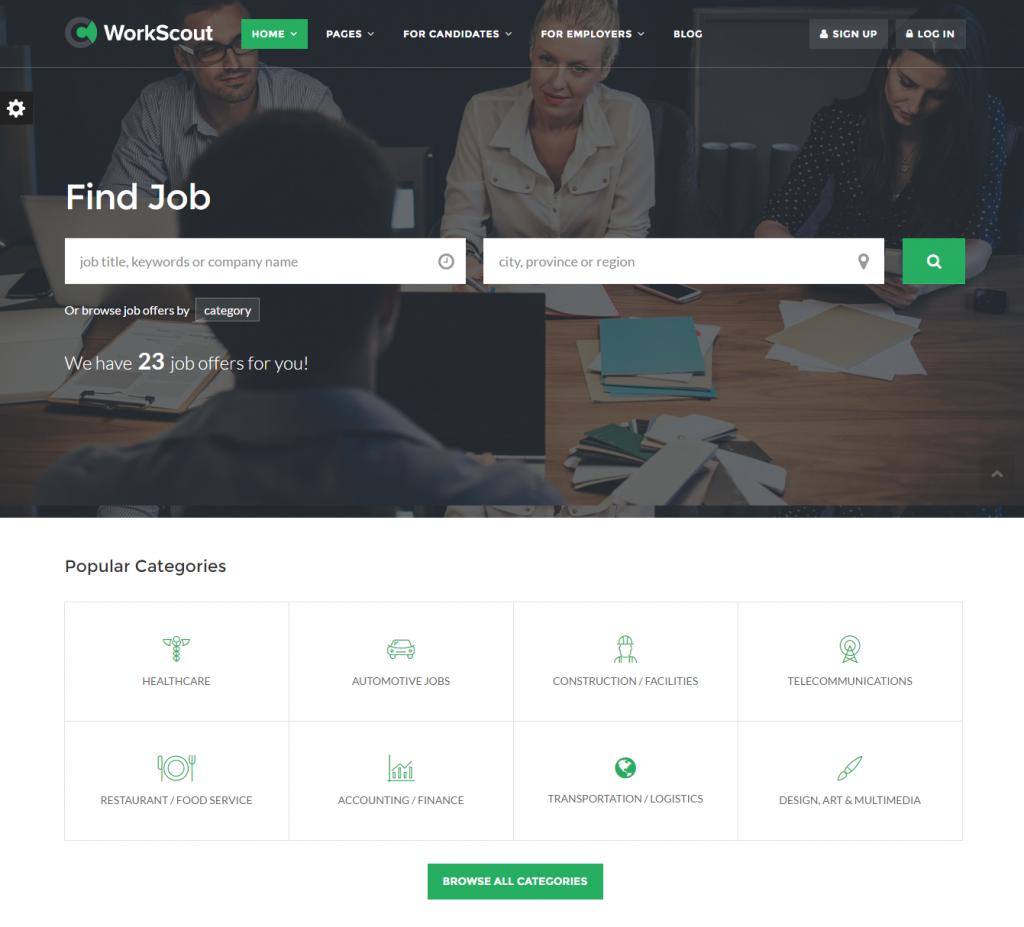workscout-job-board-wordpress-theme