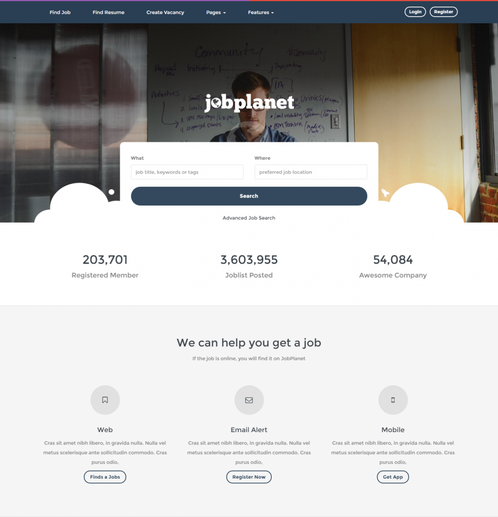 jobplanet-responsive-job-board-wordpress-themes