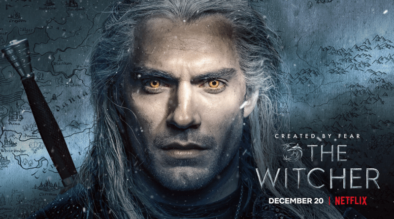 official witcher poster