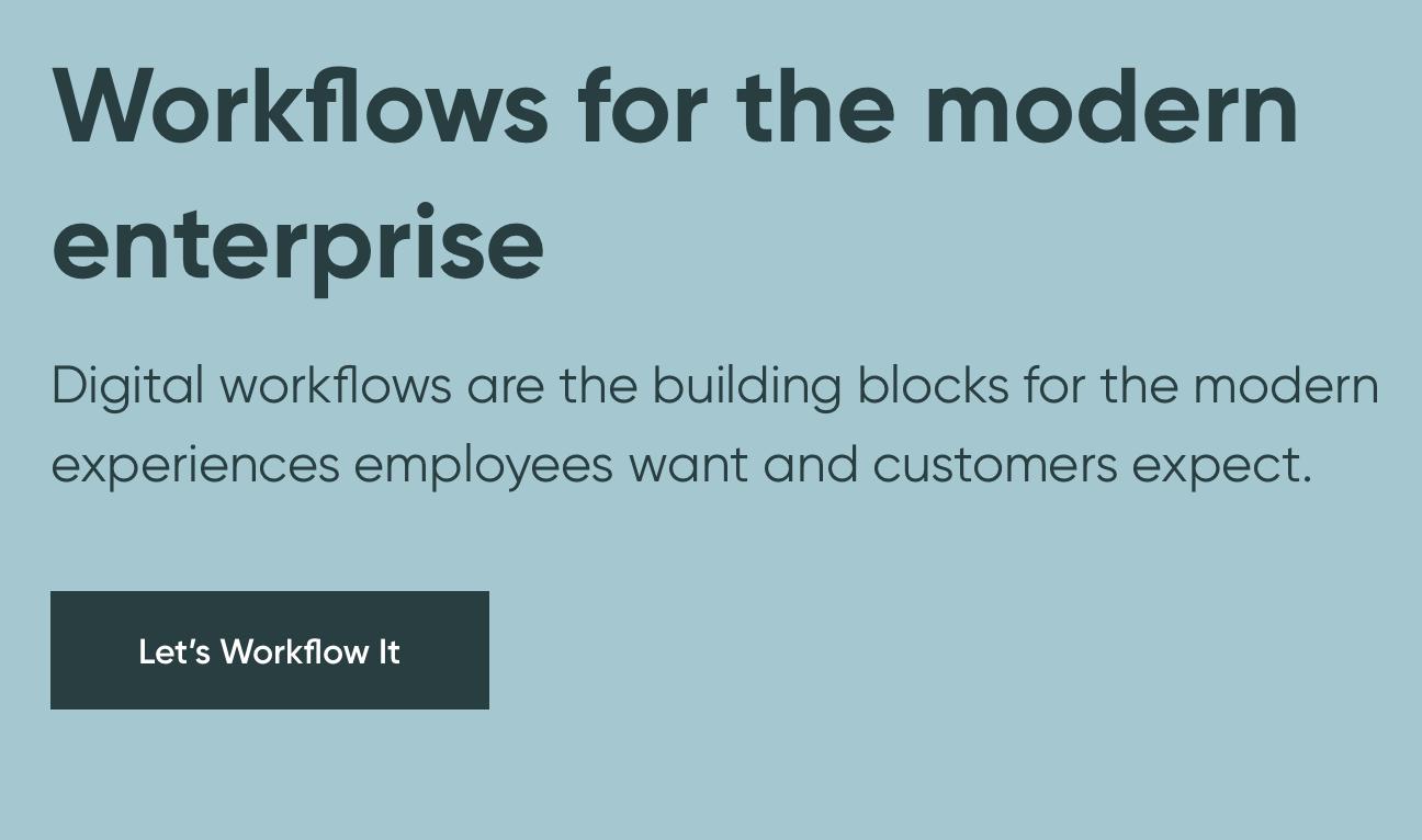 enterprise workflows