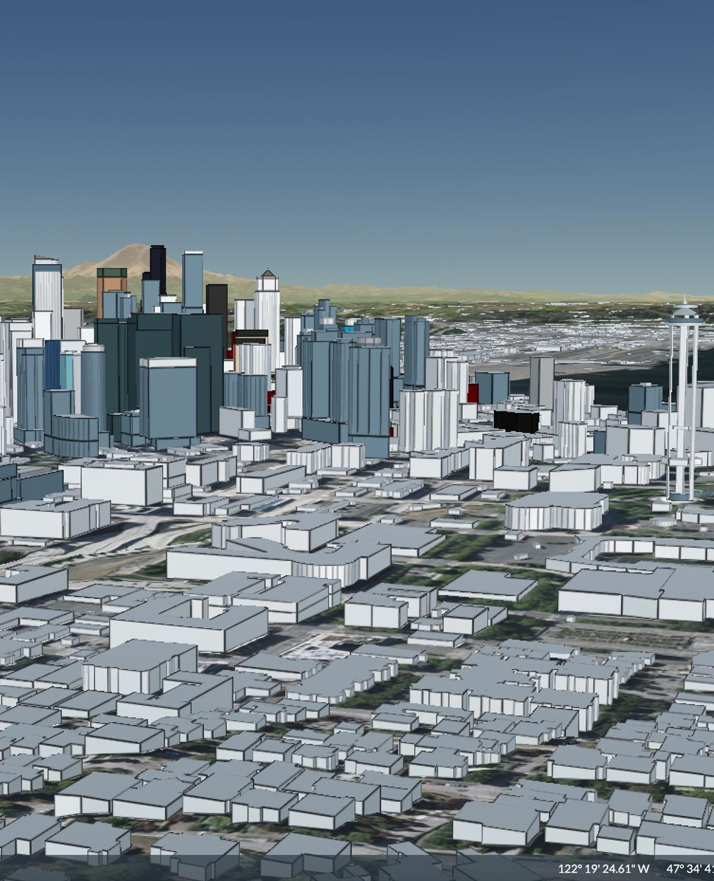 fastmap 3d buildings by osm and cesium