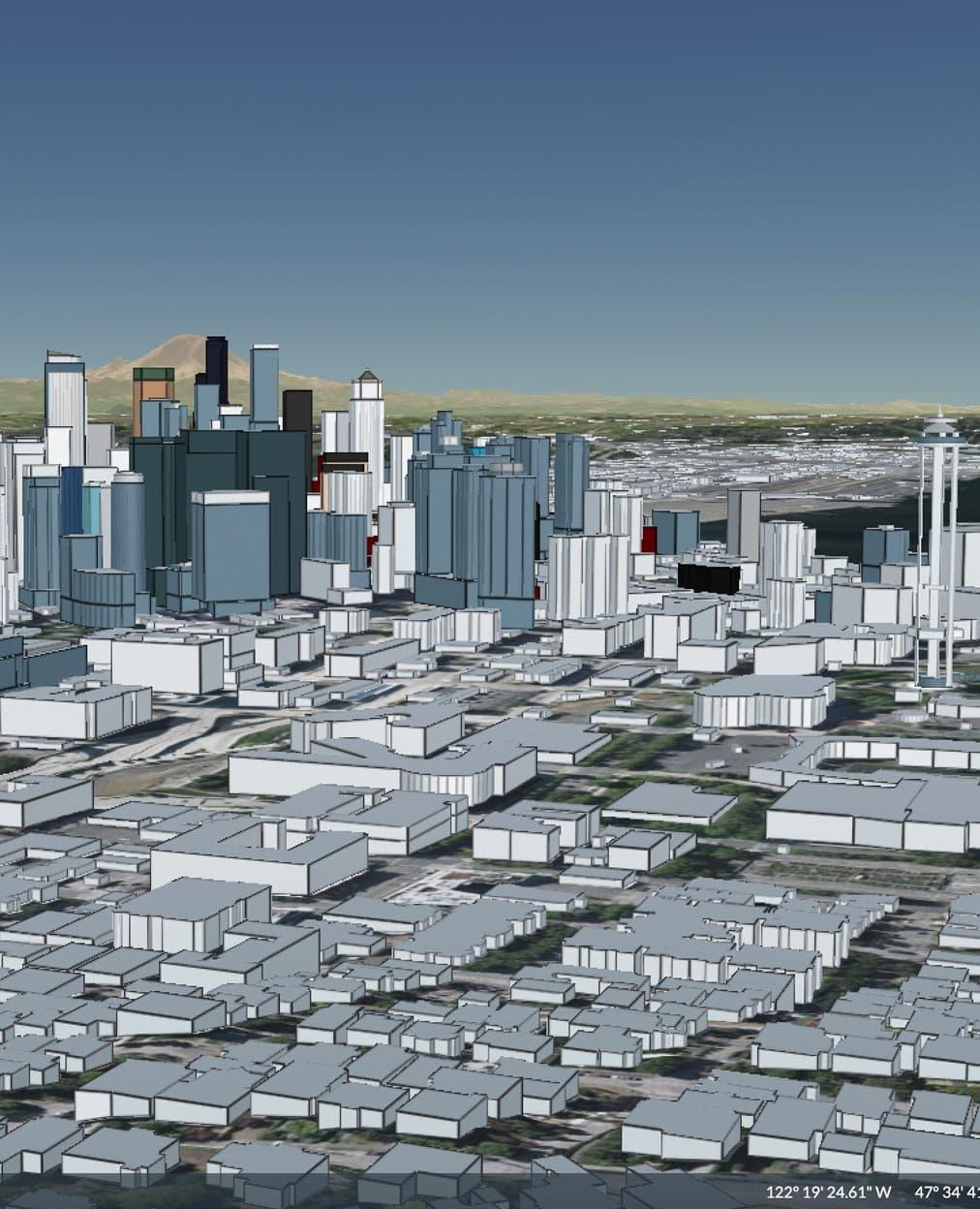 OSM 3D Buildings