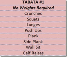 examples of tabata workouts you can do at home: