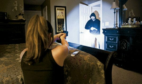 insurance for self-defense during a home invasion