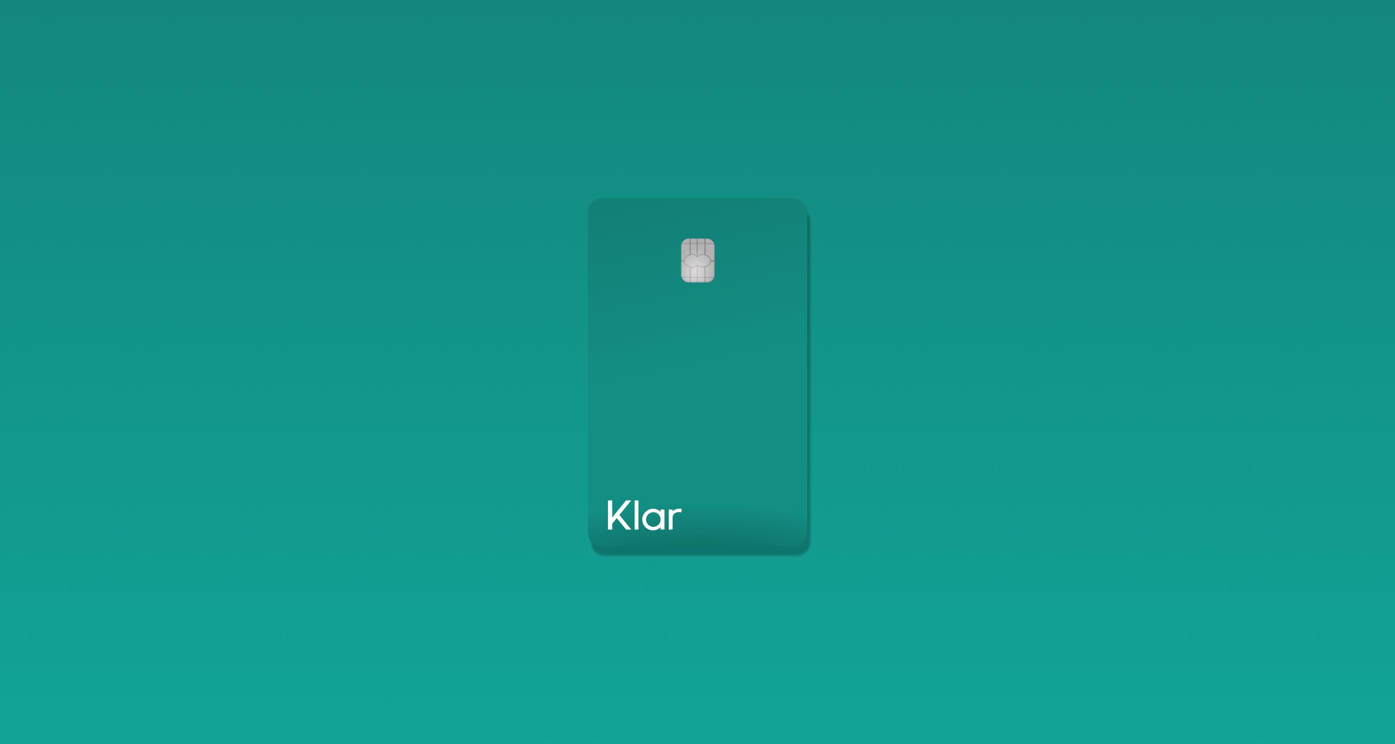 En tu cuenta Klar, tu dinero está protegido y puedes rastrear todos tus movimientos desde la aplicación.