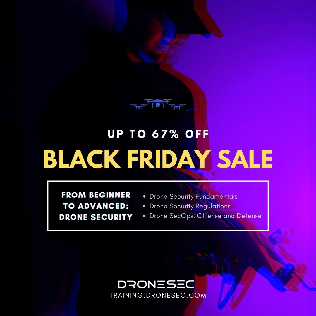 Black Friday Deal: Drone Security Course Bundle